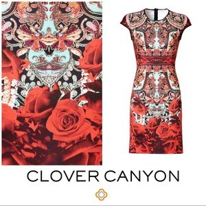 Clover Canyon 'Rose Matador' Dress (XS)